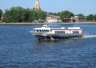 Program 6. Hydrofoils to Peterhof